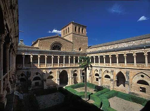 Monasterio de Santa María de Huerta en Soria