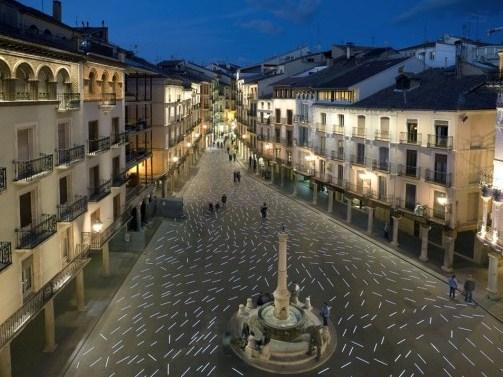 La Plaza del Torico en Teruel