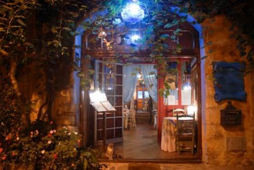 Restaurante Candelaria en Peratallada