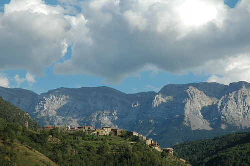Arseguel, pueblo con encanto en el Pirineo catalán