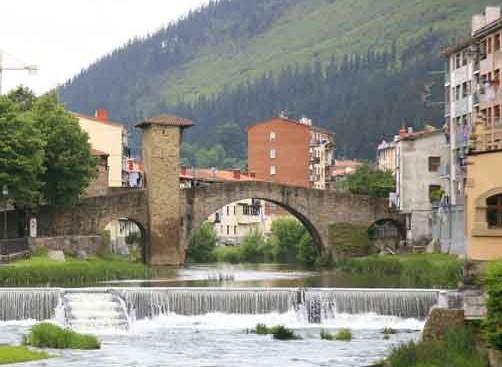 Balmaseda, pueblo medieval en Vizcaya