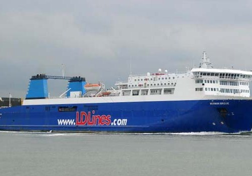 Ferry entre Gijón y Saint Nazarie, en Francia