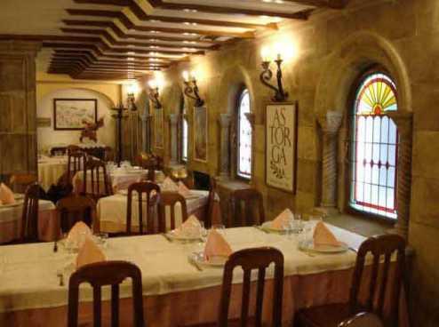 Restaurante la Peseta en Astorga