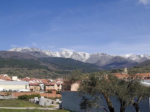 Candeleda, en la Sierra de Gredos