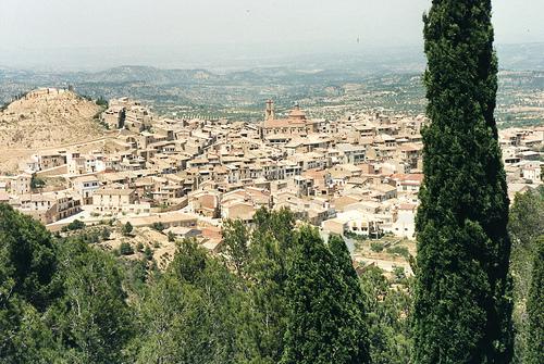 Calaceite, el castillo del olivo de Teruel