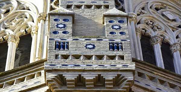 Detalle de la Catedral de Zaragoza