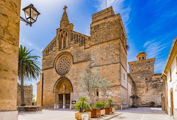 Iglesia de Sant Jaume en Alcudia