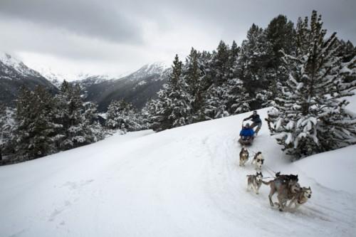 trineos en Andorra
