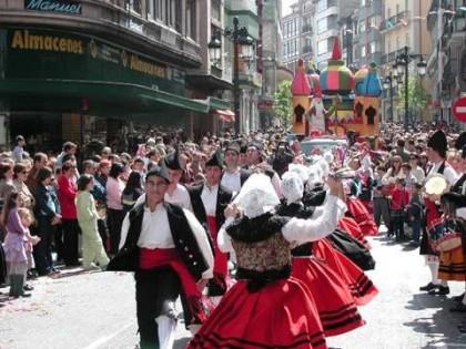 Feria del Bollo en Avilés