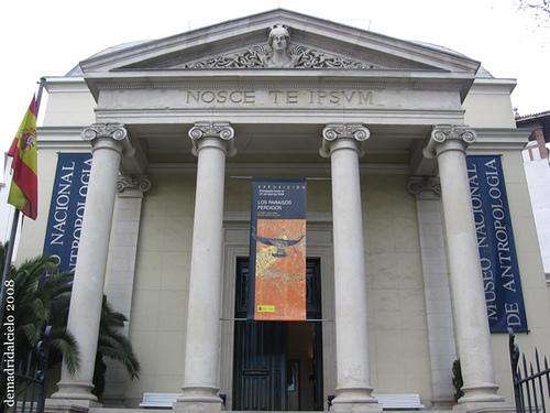 Museo Nacional de Antropología en Madrid