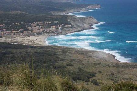 Cala Mesquida: las mayores dunas de Mallorca
