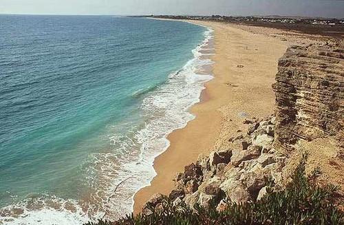 Las playas de Barbate en Cádiz