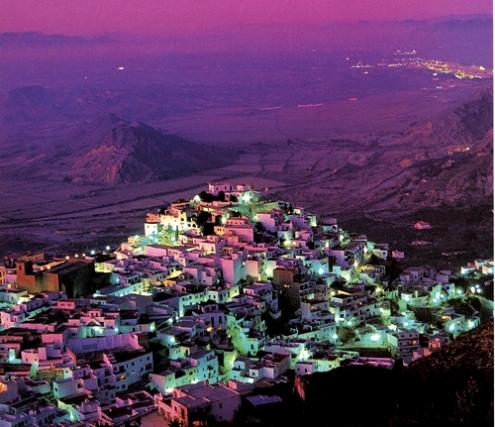 córneo árabe fantasía cerca de Almería