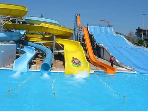 Parque Acuático Aguamar en Ibiza