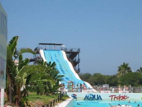 Parque Acuático Aquatropic en Granada