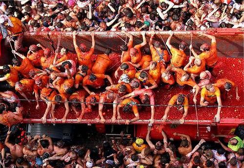 Fiesta de la Tomatina en Buñol