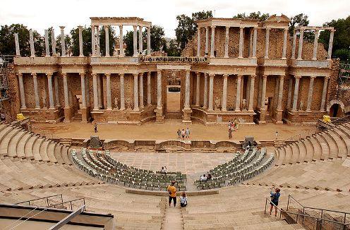 Mérida. El Teatro Romano: Una magnífica obra
