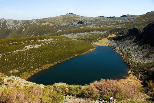 Ruta hacia el Pico Vizcodillo en León