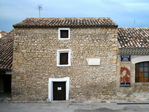 La Casa Natal de Goya en Fuendetodos