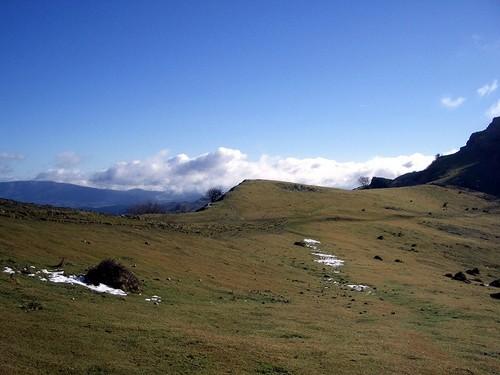 Parque Natural de la Sierra de Gorbeia en Vizcaia