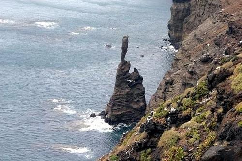Roque Partido o Dedo de Dios en Gran Canaria