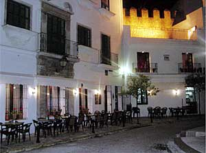 Restaurante Trafalgar. Vejer de la Fra. (Cádiz)