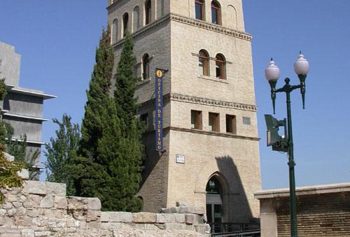 Torreón de la Zuda en Zaragoza