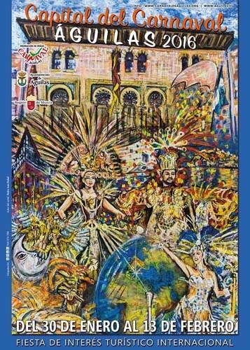 Carnaval de Aguilas 2016 cartel