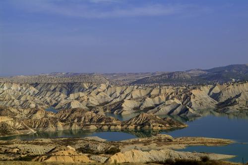 Barrancos de Gebas en Murcia