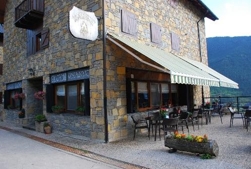 Restaurante El Caliu. Taüll (Lérida)