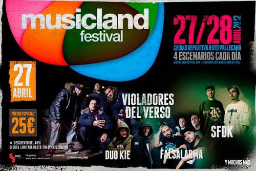 Musicland Festival Madrid 2012