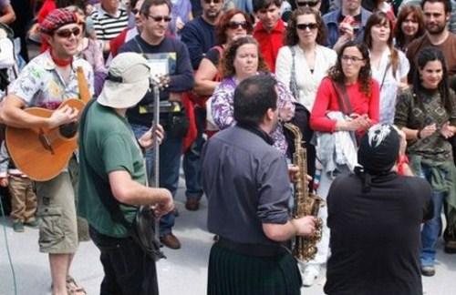 Festival Música Callejera 2012 en Trebujena, Cádiz