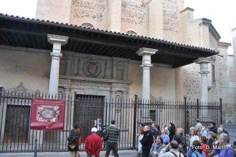 Cobertizo de Santo Domingo el Real en Toledo