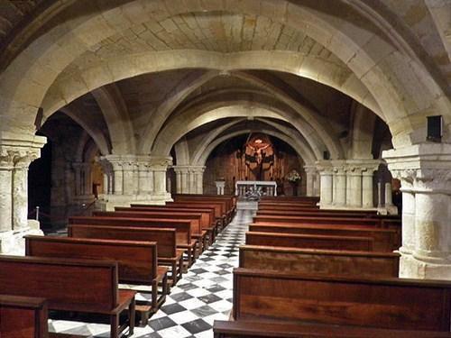 La Cripta del Cristo en Santander