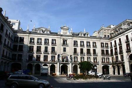 La Plaza Porticada de Santander