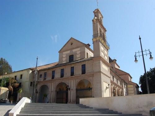 El Santuario de la Virgen de la Victoria en Málaga