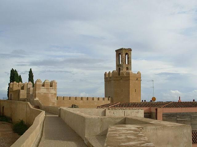 Torre de Espantaperros Alcazaba de Badajoz