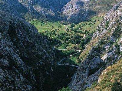 El Desfiladero de la Hermida, en Cantabria
