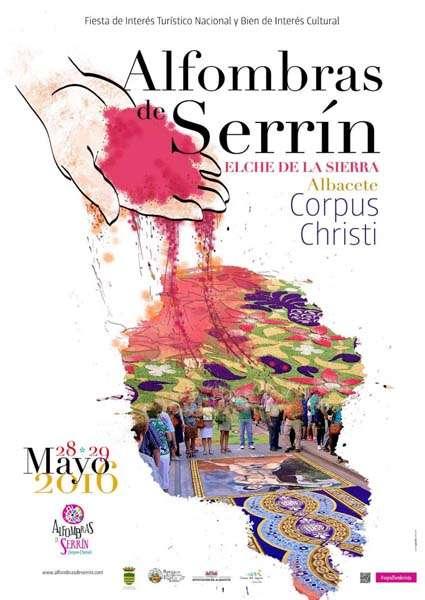 Cartel Alfombras de Serrin 2016