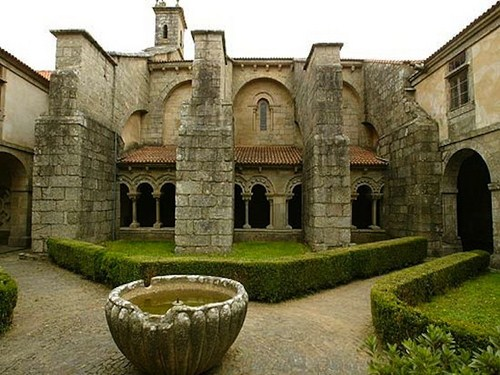La Colegiata de Sar en Santiago de Compostela