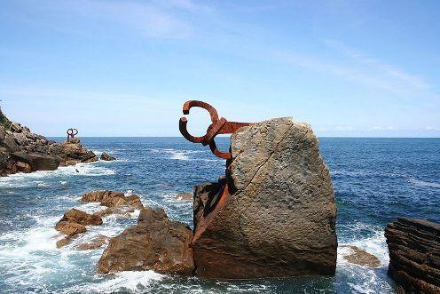 El Peine del Viento, imagen singular de San Sebastián