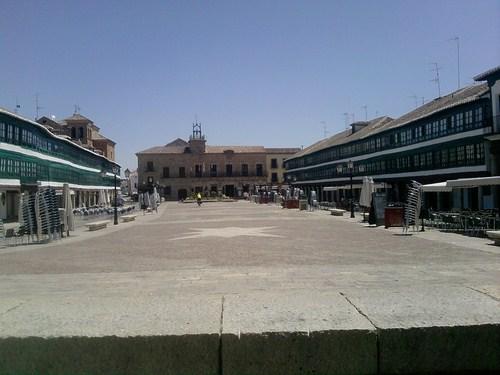La Plaza Mayor de Almagro, en Ciudad Real