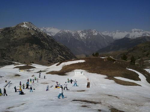 Esquiar en Cabeza de Manzaneda