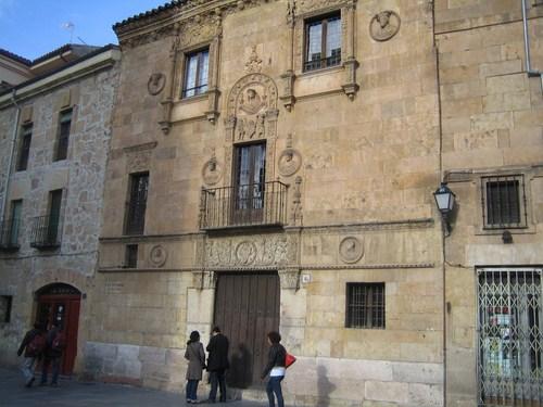 La Casa de las Muertes en Salamanca