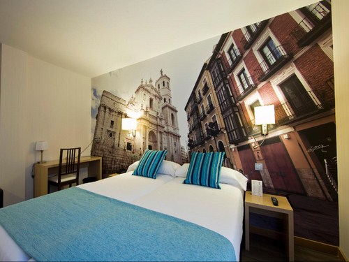 Hoteles céntricos en Valladolid