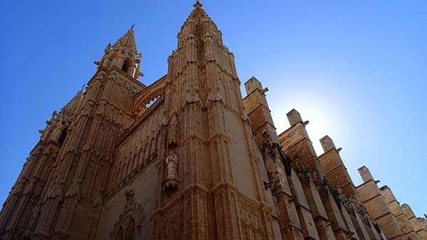 Catedral de Palma de Mallorca vista
