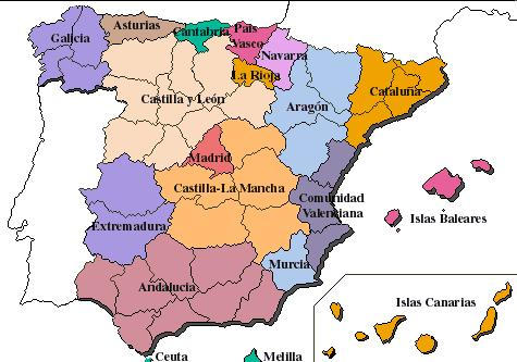 Comunidades Autnomas en Espaa
