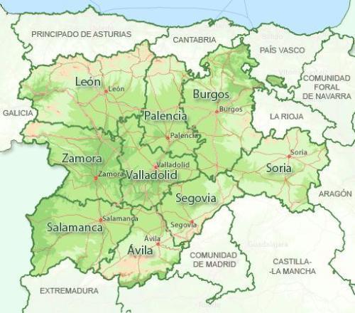 Información de Castilla y León