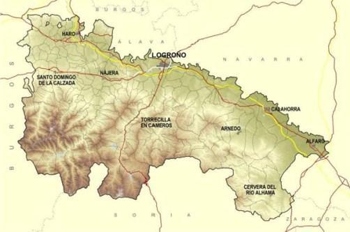 Información de La Rioja