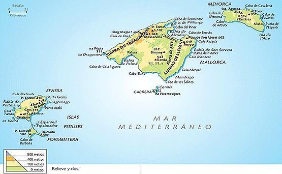 Información de Baleares